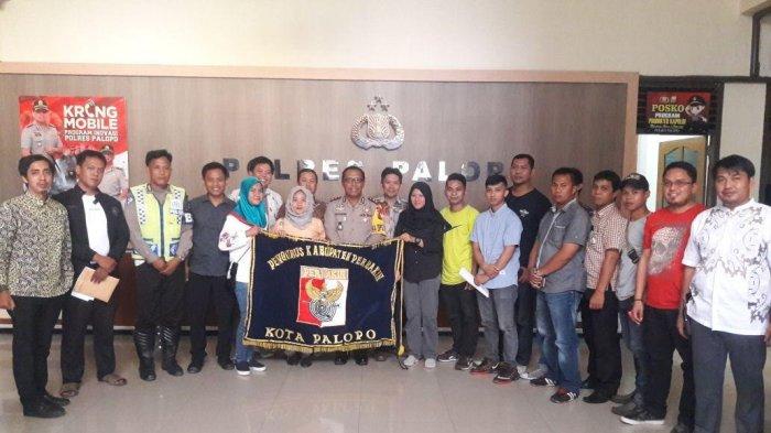 Kapolres Palopo, AKBP Taswin melepas 17 petembak di Mapolres Palopo Jl Opu To Sappaile, Kecamatan Wara, Kota Palopo, Sulawesi Selatan, Kamis (25/1/2018).